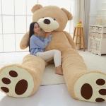 ตุ๊กตาหมีตัวใหญ่ (คาบดอกกุหลาบ) ขนาด 1.3 เมตร