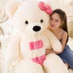 ตุ๊กตาหมี ผูกผ้าพันคอ ขนาด 1.3 m.