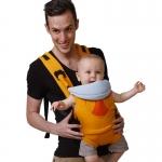เป้าอุ้มเด็ก (Hip Seat) น้ำหนักเบาทำจากผ้าคอนตอน 100% เหมาะสำหรับเด็กแรกเกิด-2 ขวบ