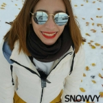 เสื้อกันหนาว SNOWVY : (สีขาว) ทรงขนเป็ดเข้ารูป แขนยาวถึงมือ -15c เอาอยู่