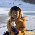 เสื้อกันหนาว SNOWVY : (สีส้มทอง) ทรงขนเป็ดเข้ารูป แขนยาวถึงมือ -15c เอาอยู่