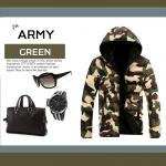 เสื้อกันหนาว ARMY : ลายทหาร เท่ๆ ใส่แล้วหล่อเลย