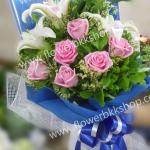 ช่อดอกไม้ รหัส WBQ03