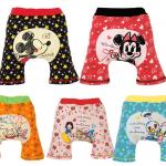 กางเกงขาสั้นก้นบาน สำหรับเด็กวัยแพมเพิส แพค 15 ตัว size 80-90-100