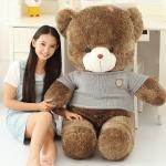 ตุ๊กตาหมี อ้วน-เสื้อสีเทา น่ารักๆ ขนาด 1.2 เมตร