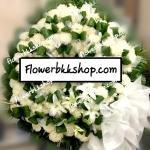 พวงหรีดดอกไม้สด รหัส WWR20