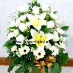 แจกันดอกไม้สด รหัส WVA06