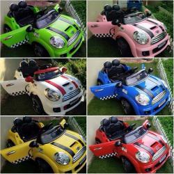รถไฟฟ้า รถแบตเตอรี่ Mini ของเล่นเด็ก ส่งฟรี (สินค้ามือหนึ่ง)