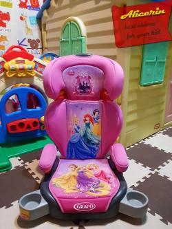 """บูสเตอร์ Booster Seat """"Graco"""" Junior Maxi Plus Limited Princess Disney"""