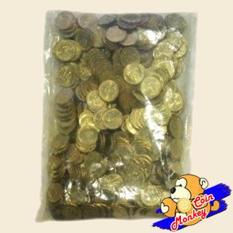 เหรียญ 25 สตางค์ ฉลองสิริราชสมบัติ ครบ 50 ปี กาญจนาภิเษก รัชกาลที่ 9 (ยกถุง)