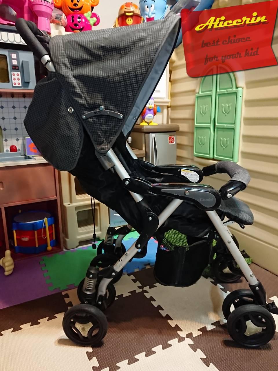 รถเข็นเด็กมือสอง Combi รุ่น Do KId 5 สามารถใช้งานกับคาร์ซีทกระเช้ารุ่น Prim Baby