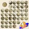 ชุดเหรียญกษาปณ์ที่ระลึก ชนิดราคา 2 บาท ครบ 41 วาระ