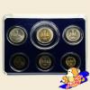ชุดเหรียญกษาปณ์ ฉลองสิริราชสมบัติ ครบ 50 ปี กาญจนาภิเษก รัชกาลที่ 9