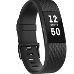 Fitbit Charge 2 Black Gunmental Large รับประกันศูนย์ 1 ปี