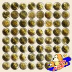 เหรียญกษาปณ์ที่ระลึก ชนิดราคา 10 บาท (สองสี) จำนวน 61 วาระ