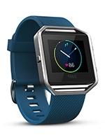Fitbit Blaze, Blue, Silver, Small