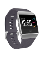 FITBIT IONIC Blue Gray / Silver Gray One Size S & L Included